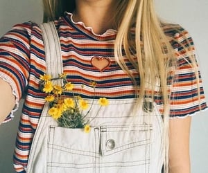 aesthetic, dandelions, and outfit image