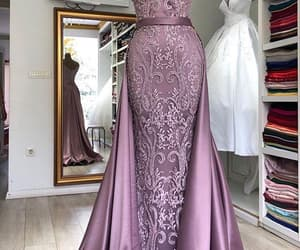 evening gown, sexy formal dress, and robe de soirée image