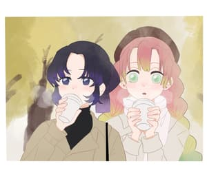 anime, demon slayers, and waifus image