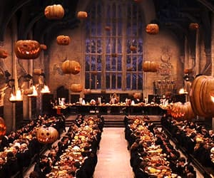 autumn, gif, and harry potter image