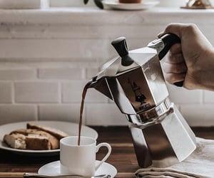 americano, breakfast, and coffee image
