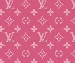 Louis Vuitton, LV, and pink image