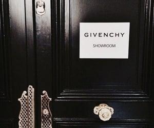 Givenchy, fashion, and black image