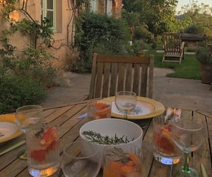 food, drinks, and garden image
