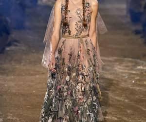 Christian Dior, dresses, and paris fashion week image