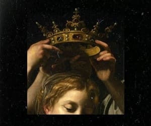 aesthetic, crown, and Queen image