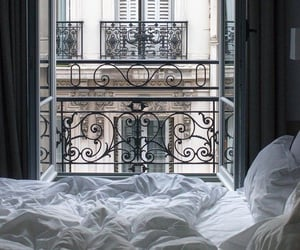 aesthetic, bedroom, and paris image