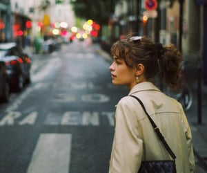 city, france, and french girl image