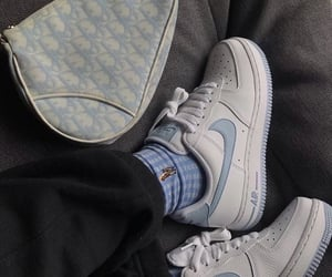 dior, nike, and blue image