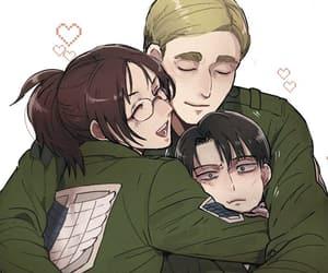 anime, anime girl, and levi ackerman image