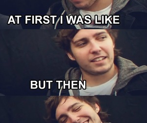 funny, you me at six, and josh franceschi image