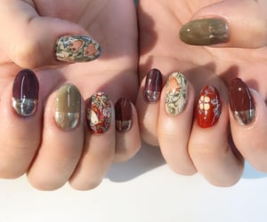 art, nails, and painting image