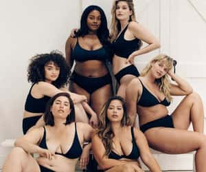 body positive, curvy, and thick image