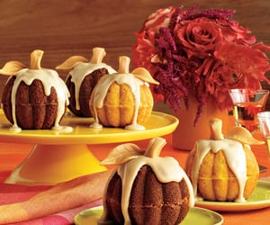autumn, bakery, and flowers image