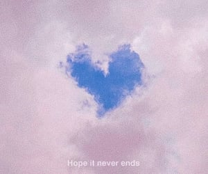 blue, quote, and sky image