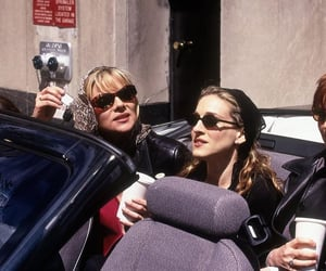 sex and the city, friends, and Carrie Bradshaw image