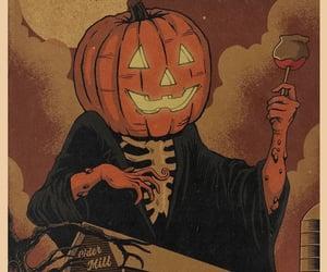 all hallows eve, autumn, and Halloween image