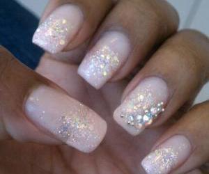 girl, nail art, and nails image