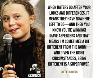 bully, greta thunberg, and liar image