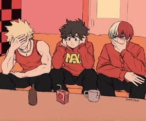 anime, husbandos, and mha image