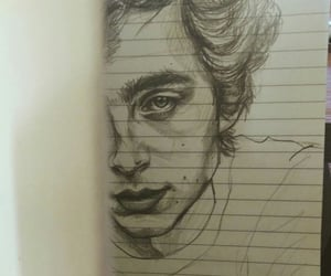 drawing, art, and call me by your name image