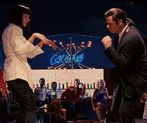 pulp fiction, John Travolta, and quentin tarantino image