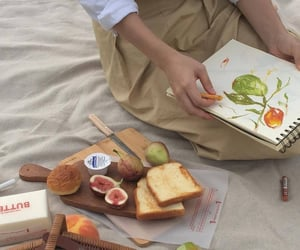 aesthetic, art, and food image