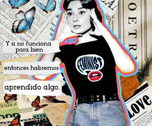 aesthetic, audrey hepburn, and Collage image
