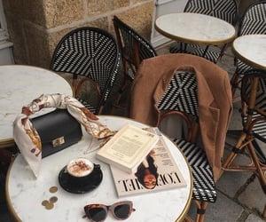 coffee, bag, and cafe image