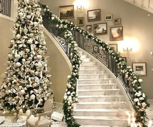 christmas, xmas 19, and stairs image