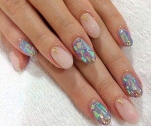 nails, manicure, and nail art image