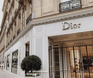 city, dior, and architecture image