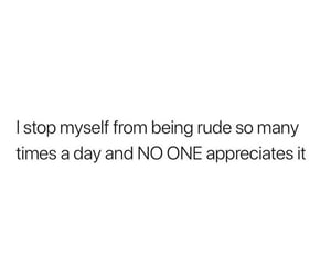 rude and stop myself image