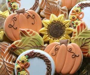 cookie, decorated, and food image