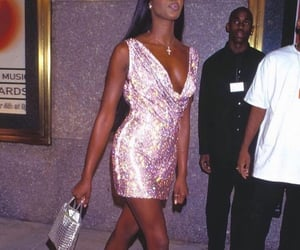 90s, Naomi Campbell, and model image