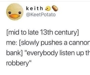 13th century, Bank, and bank robbery image