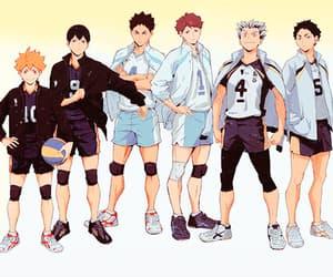 anime, bokuto, and gif image
