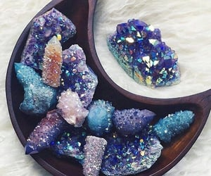 crystals and aesthetic image