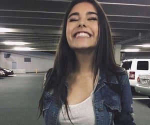 smile, madison beer, and cheesy smile image