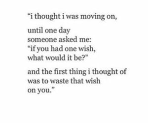 quotes, wish, and sad image