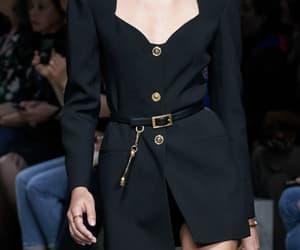 Donatella Versace, Versace, and womenswear image