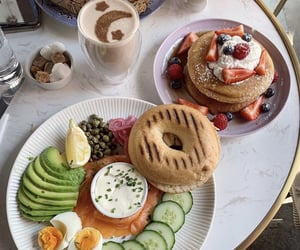 breakfast, brunch, and fit image