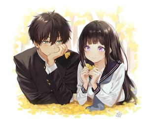 hyouka, anime, and anime girl image