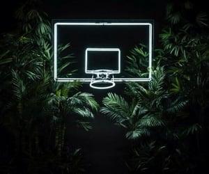 Basketball, light, and green image