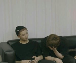 jin, rm, and seokjin image