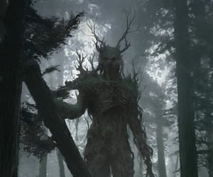 fantasy, forest, and monster image