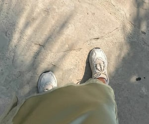 green, ground, and shoe shoes image
