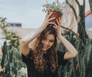 aesthetic, brunette, and girl image