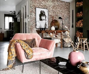 home, modern, and pink image