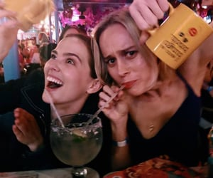 Marvel, brie larson, and zoey dutch image